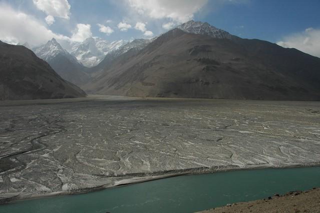 Border with Afghanistan - Pamir Mountains, Tajikistan