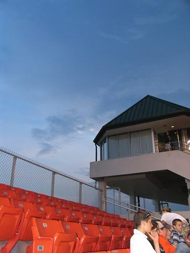 weather clouds baseball sunsets northcarolina 2007 minorleaguebaseball carolinamudcats
