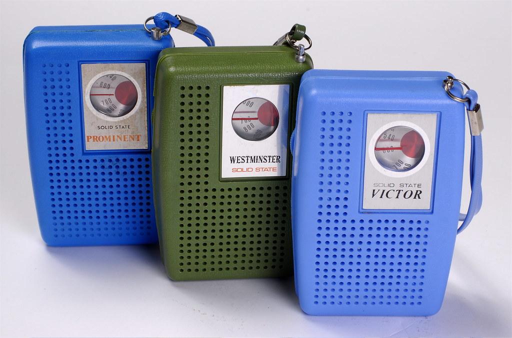 Ubiquitous 70's radios