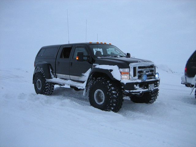 Best Snow Tires For Trucks >> Just thought these Icelandic super trucks belonged here