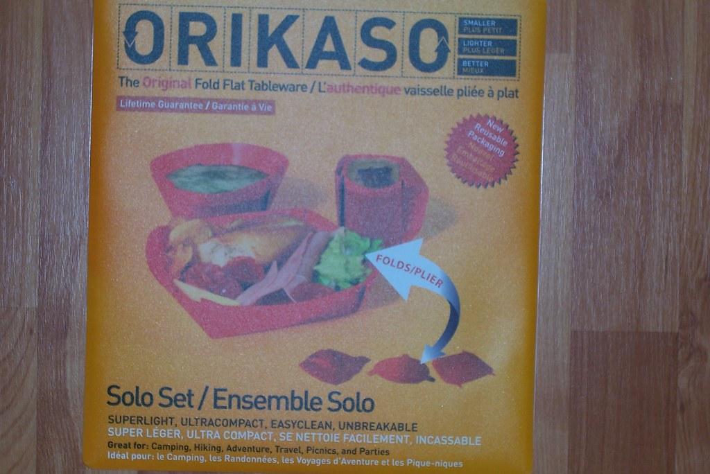 Orikaso fold flat tableware