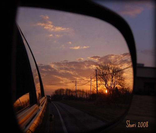 sunset reflection car mirror march indiana sideviewmirror 2008 fpc blueribbonwinner platinumphoto anawesomeshot theunforgettablepictures goldstaraward