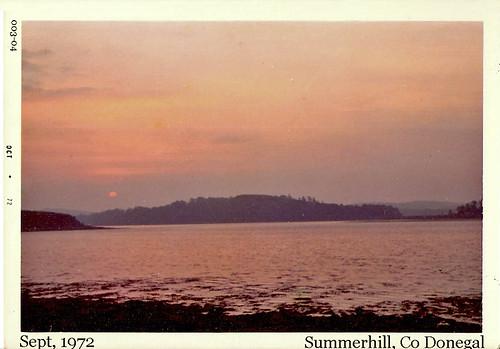 road old ireland beach youth sunrise hostel all group 1972 holmes 003 donegal kodacolor ulster countydonegal summerhill kodakpony135 postcardireland irishseascapes csmlabel