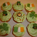 St. Patrick's Day Cupcakes by Crafty Confections