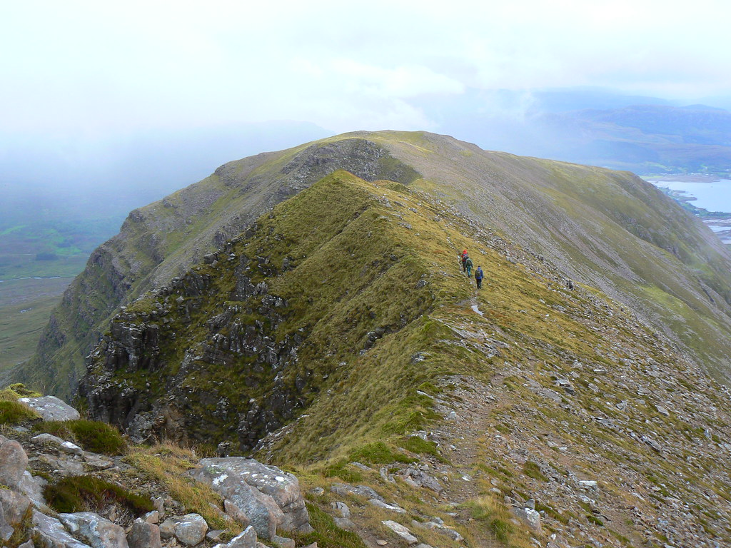On Beinn Bhan's southeast ridge