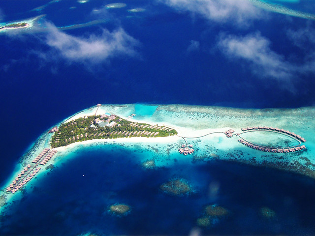 Coco Palm Bodu Hithi Island Resort & Spa Maldives - Aerial Photo