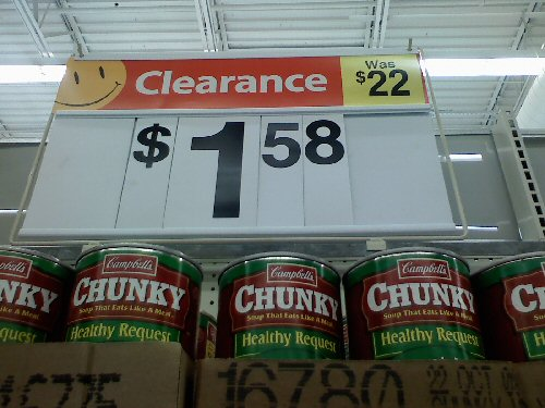 Walmart, Deep Discount Detail