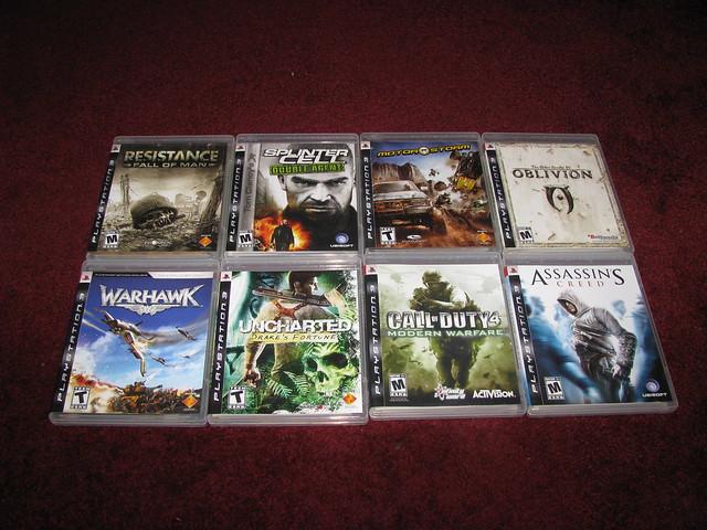 All Playstation 3 Games : My playstation games flickr