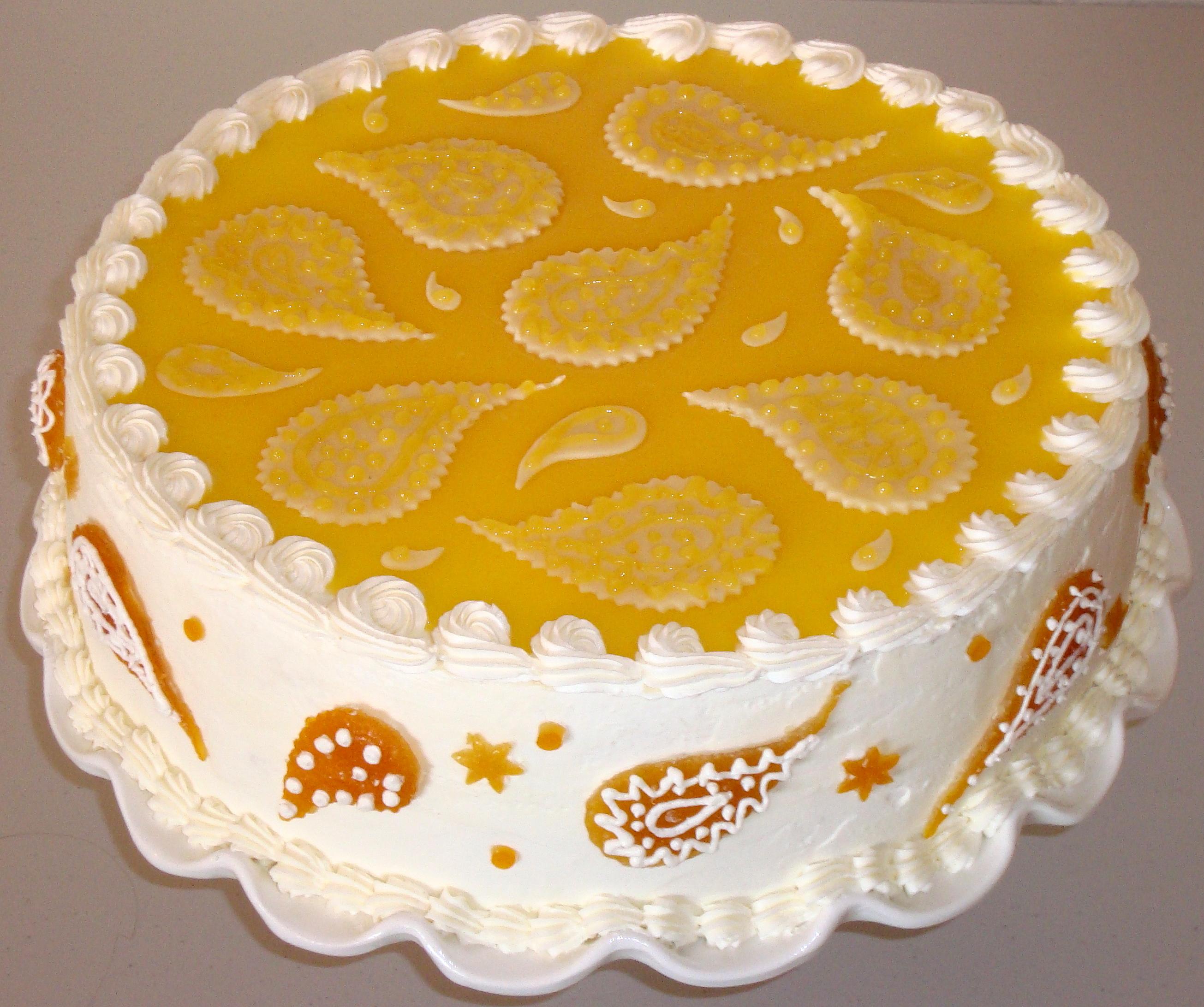 Paisley Cake Buttercream