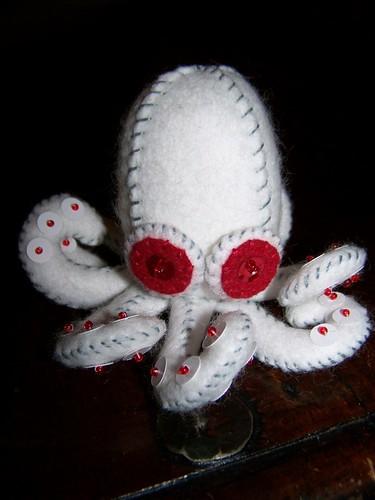 Albino Octopus | Flickr - Photo Sharing!