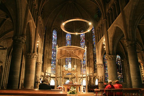 iglesia de la Real Colegiata de Roncesvalles