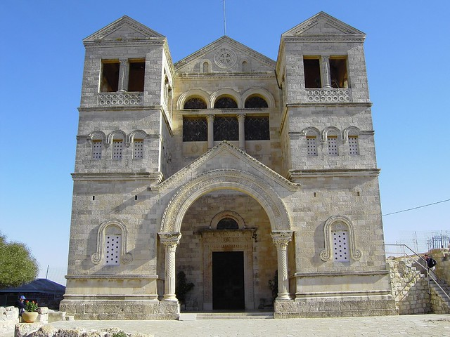Mount Tabor - Church of the Transfiguration (2) | Flickr ...