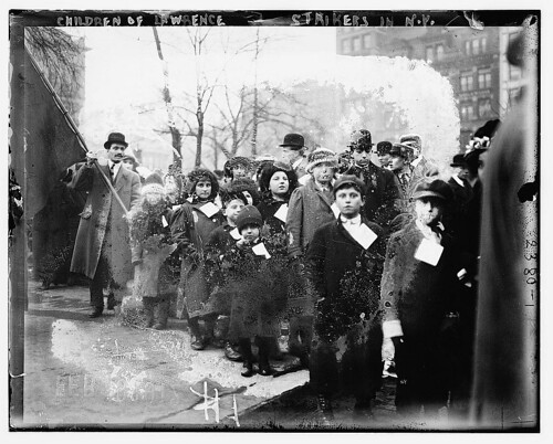 Children of Lawrence strikers in N.Y.  (LOC)
