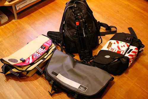Chrome, Bailey Works, TimBuk2, Lowepro