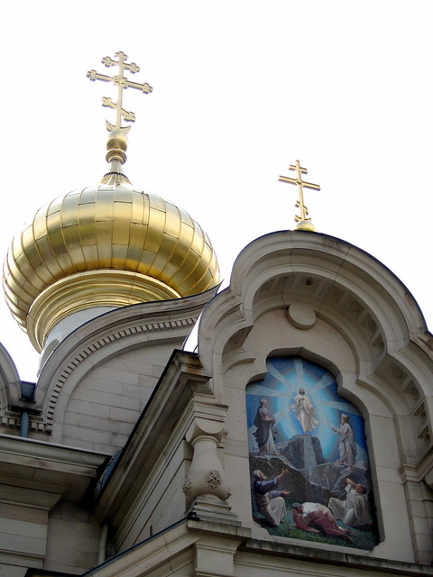 Baden-Baden. Russische Kirche
