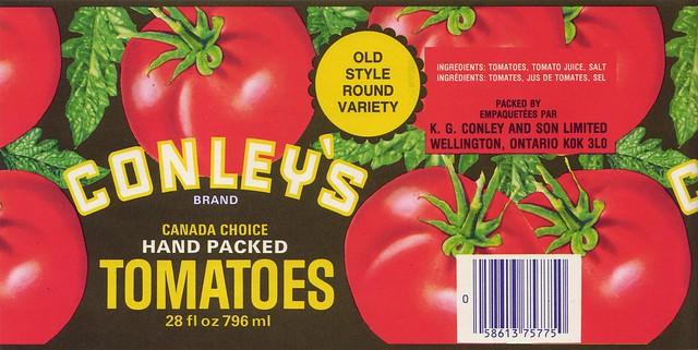 Conley's Tomatoes
