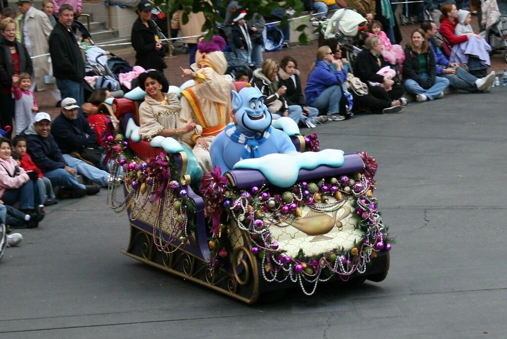 Disneyland Dec 2007 - A Christmas Fantasy Parade
