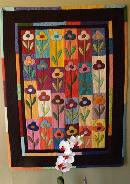 Garden of flowers Quilt