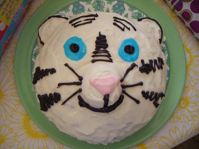 white tiger cakes