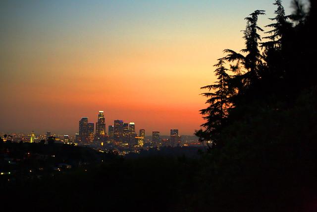los angeles skyline view - photo #18
