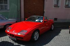 automobile(1.0), automotive exterior(1.0), vehicle(1.0), automotive design(1.0), bmw z1(1.0), land vehicle(1.0), convertible(1.0), supercar(1.0), sports car(1.0),