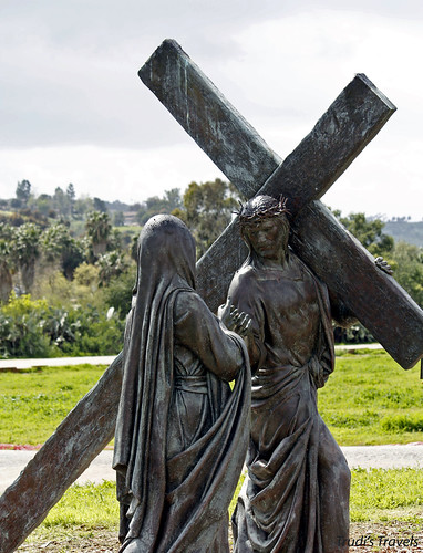 Mary and Jesus at Mission San Luis Rey by Gypsy Mom