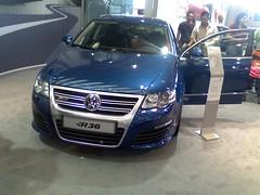 executive car(0.0), wheel(0.0), volkswagen touareg(0.0), automobile(1.0), automotive exterior(1.0), volkswagen(1.0), vehicle(1.0), compact car(1.0), volkswagen passat(1.0), bumper(1.0), land vehicle(1.0), luxury vehicle(1.0), vehicle registration plate(1.0),