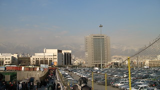 Tehran from Mirdaband metro station