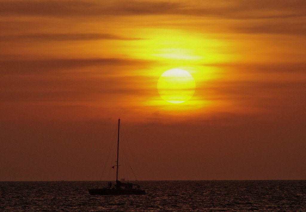 Sailing - When the sun goes down