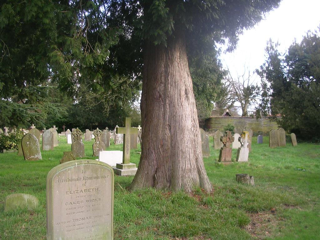St Bartholomew Churchyard, Leigh free walk 32 Holmwood to Reigate