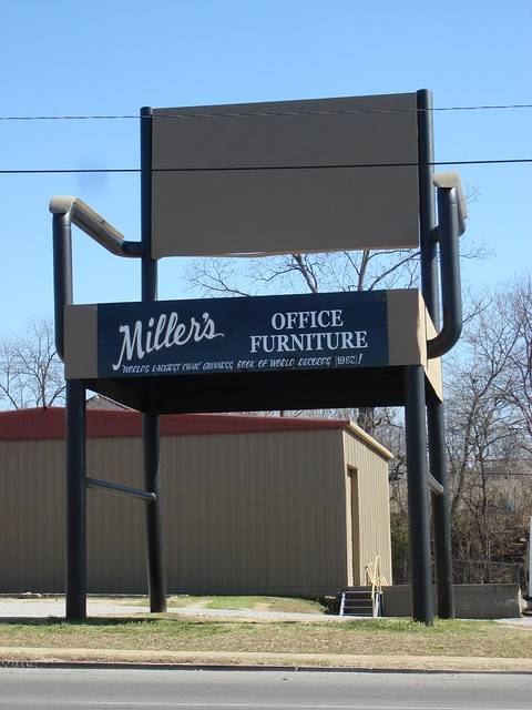 World's Largest Office Chair, Miller's Office Supply, Anniston AL
