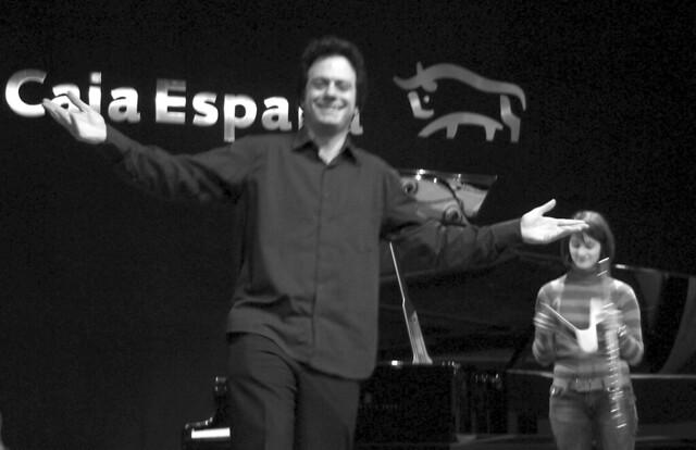 STEFANO SPANOPOULOS, PIANO - GEMMA CORRALES, FLAUTA