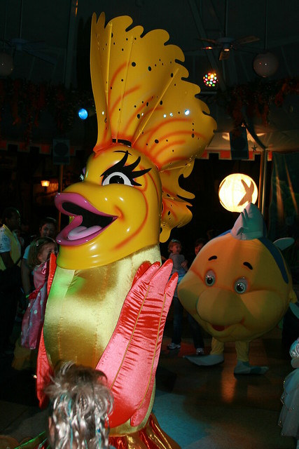 Fantail and Flounder at the dance party