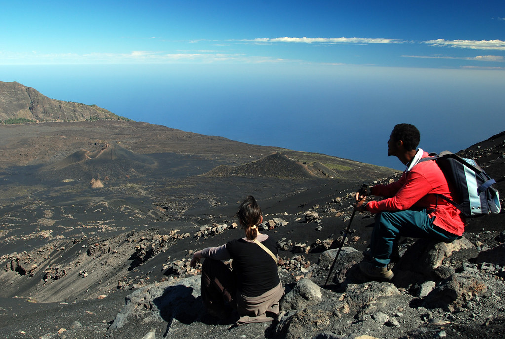 Morabeza au Cap-Vert - Sommet du Pico grande, Fogo