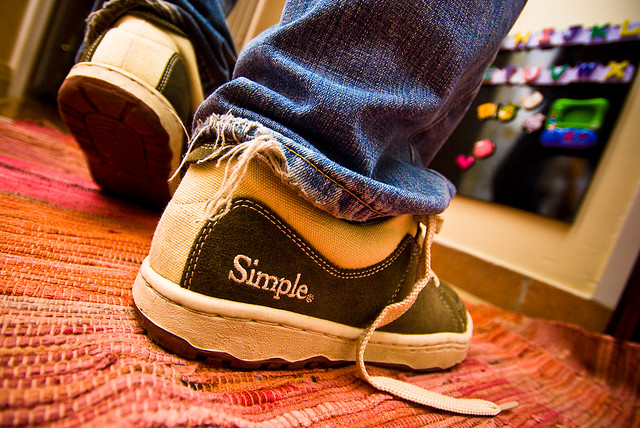 Photo:Walking on Simples! (14th/52) By:skippyjon