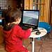 Small photo of David jugando a Ktron en Ubuntu
