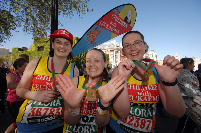 2009 London Marathon. Photos by Colin Hampden-White