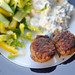 Small photo of Frikadeller, salat og kartoffelsalat