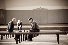 Chess players II by HeikkiA
