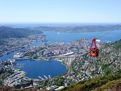 Bergen's cable car tour