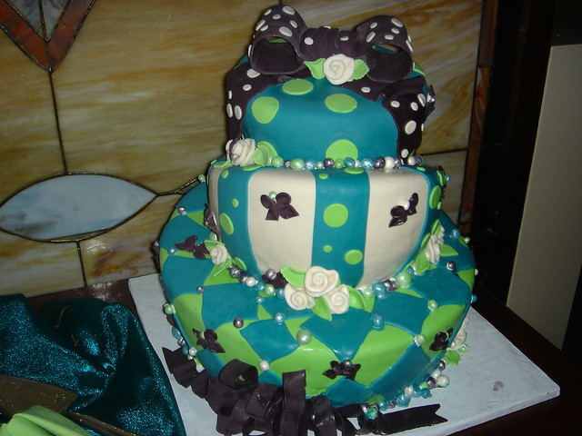 Ugliest Wedding Cake Ever