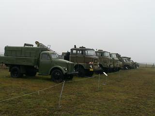 Artillerie stand zum Schusse fertig neben dem Flugplatz Cottbus 248_1