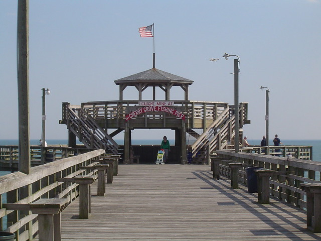 Cherry grove fishing pier north myrtle beach sc flickr for North myrtle beach fishing pier