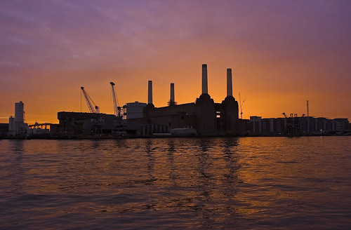 Battersea sunset