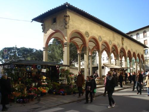 Piazza dei Ciompi, Loggia del Pesce