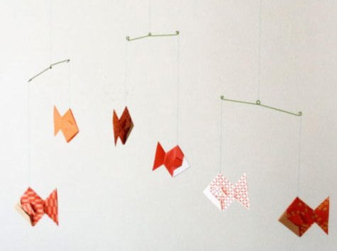 Diy Wednesdays Origami Mobile Design Sponge