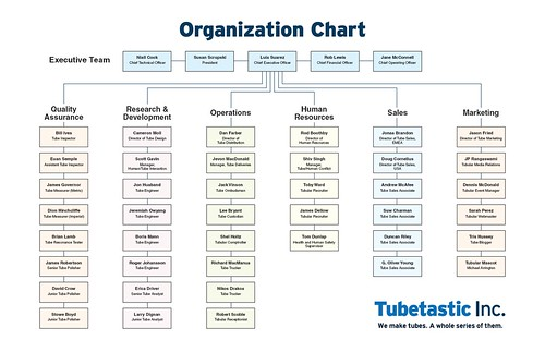 ... and photo. The aforementioned org chart, with their name circled : interactive organizational chart template : Sample Chart Templates