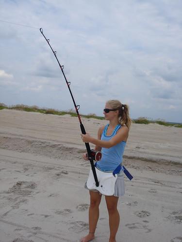 North carolina shark fishing blacktip shark north for Shark fishing nc
