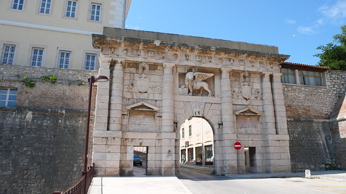 The Land Gate, Zadar
