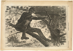 The Army of the Potomac -- A sharp-shooter on picket duty